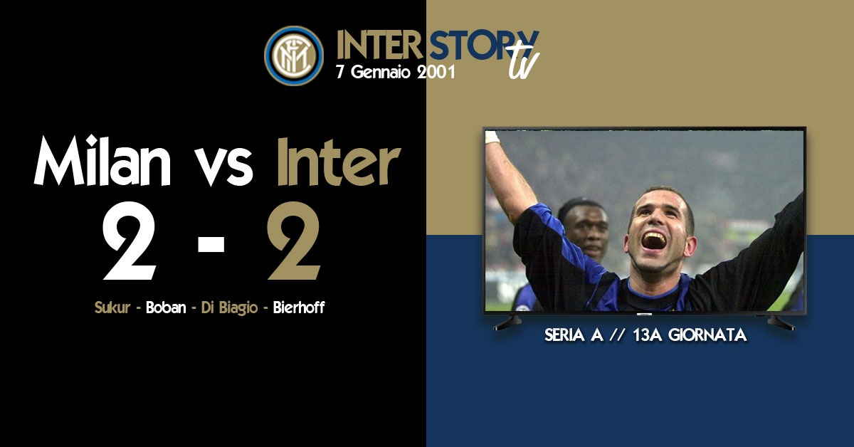 InterStoryTV - Milan vs. Inter 2-2 // gennaio 2001