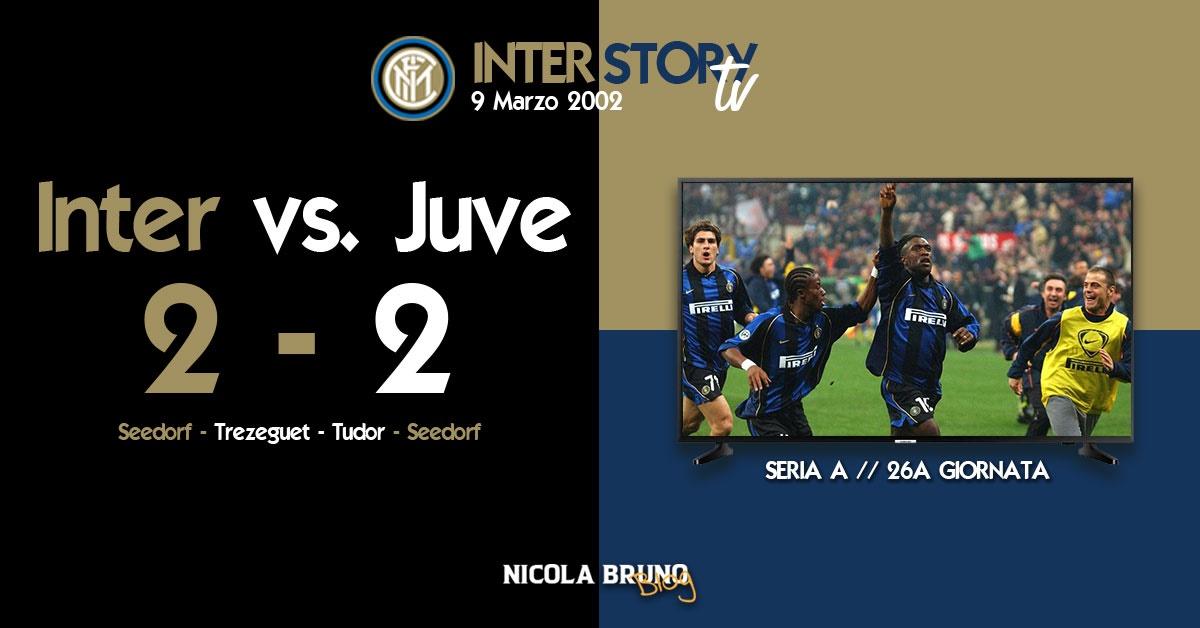 InterStoryTV - Inter vs. Juventus 2-2 // marzo 2002