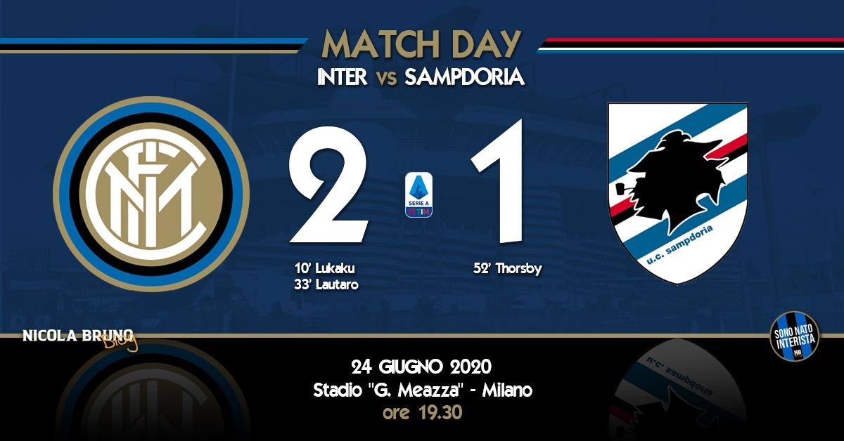 "Inter-Samp: Buona la ""prima""!"