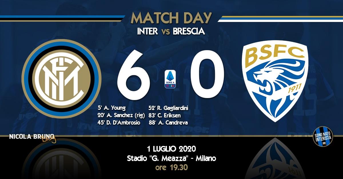Inter - Brescia: Un set a zero per noi!