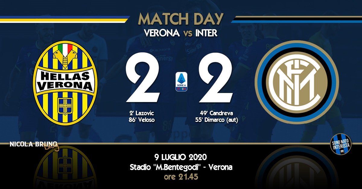 Verona-Inter: Come buttare via una stagione