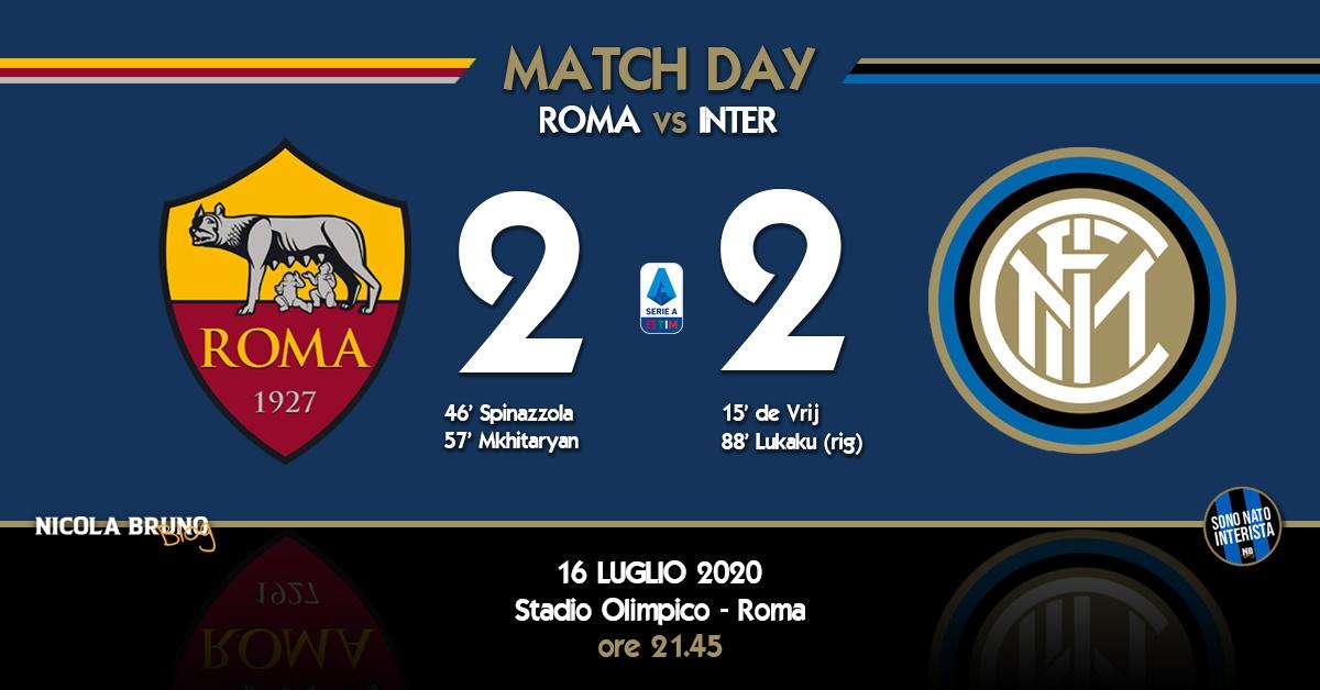 Roma - Inter: Gli errori arbitrali viziano una prestazione non esaltante!