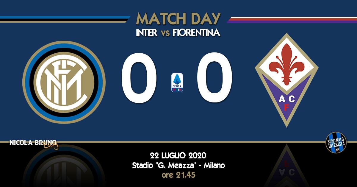 Inter - Fiorentina: si mette contro anche la sfortuna!