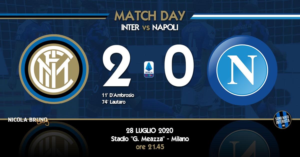 Inter - Napoli: Ottima prova d'orgoglio e secondo posto nel mirino!